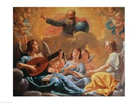 A Concert of Angels Fine Art Print