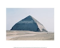 Bent Pyramid Fine Art Print
