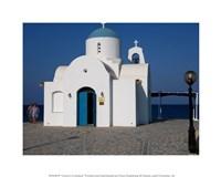 Church in Greece Fine Art Print