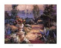 "Garden Vista by Maxine Johnston - 28"" x 22"""