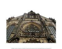 Gothic Architecture Cathedral - various sizes - $12.99