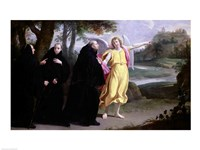 Scene from the Life of St. Benedict Fine Art Print