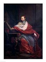 Cardinal Pierre de Berulle Fine Art Print