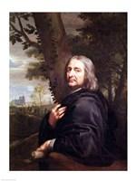 Portrait of Philippe de Champaigne, 1668 Fine Art Print