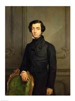 Charles-Alexis-Henri Clerel de Tocqueville Fine Art Print