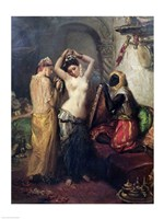 The Toilet in the Seraglio by Theodore Chasseriau - various sizes