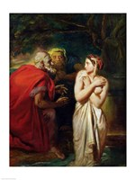 Susanna and the Elders, 1856 Fine Art Print