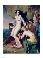 Andromeda Tied to the Rock by the Nereids, 1840 Fine Art Print