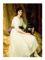 Portrait of Miss Dorothy Dicksee Fine Art Print