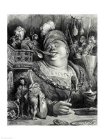Pantagruel's meal Fine Art Print