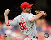 Cliff Lee 2011 Action Fine Art Print