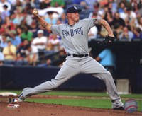Mat Latos 2011 Action Fine Art Print