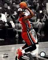 Dwyane Wade Game 3 of the 2011 NBA Finals Spotlight Action(#21) Fine Art Print
