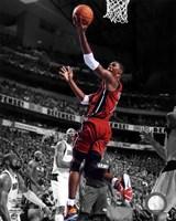 Chris Bosh Game 3 of the 2011 NBA Finals Spotlight Action Fine Art Print