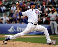 Matt Garza 2011 Action Fine Art Print