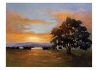 A Sunset Salute Fine Art Print