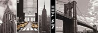 A Glimpse of NY Fine Art Print