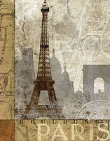 April In Paris Fine Art Print