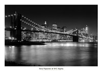 NYC Nights Framed Print
