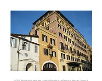 Buildings Close to Spanish Steps - various sizes, FulcrumGallery.com brand
