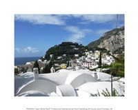 Capri White Roof Fine Art Print