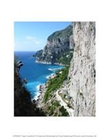 Capri Coastline Photograph Fine Art Print
