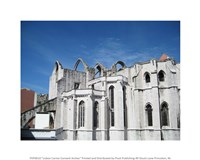 Lisbon Carmo Convent Arches - various sizes, FulcrumGallery.com brand
