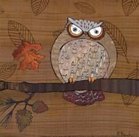 Awesome Owls III Framed Print