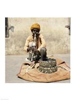 Snake Charmer Jaipur India Fine Art Print