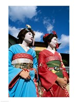 Two geishas - various sizes, FulcrumGallery.com brand