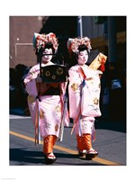 Geishas in Honshu, Japan - various sizes - $29.99