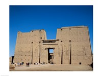 Temple of Horus, Edfu, Egypt Fine Art Print