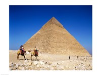 Giza Pyramids, Giza, Egypt Fine Art Print