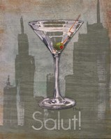 Big City Cocktail III Fine Art Print