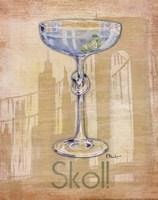 Big City Cocktail IV Fine Art Print