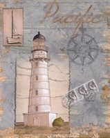 Seacoast Lighthouse II Framed Print