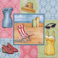 Beach Wear II Fine Art Print