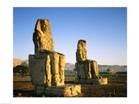 Colossi of Memnon, Luxor, Egypt Fine Art Print