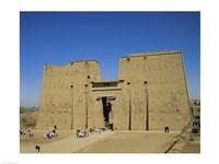 Temple of Horus, Edfu, Egypt Fine Art Print