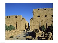 Avenue of the Sphinxes, Temples of Karnak, Luxor, Egypt - various sizes