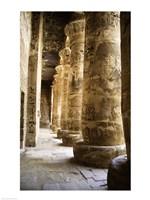 Hieroglyphics,Temples of Karnak, Luxor, Egypt Fine Art Print