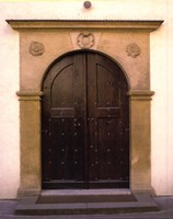 Prague Door II Fine Art Print