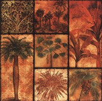 Palm Patchwork II Fine Art Print