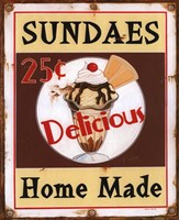 Sundaes Fine Art Print