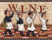 "Waiters Wine by Shari Warren - 10"" x 8"""