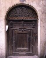 Prague Door IV Fine Art Print