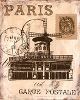 Paris Collage IV Fine Art Print