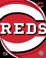 2011 Cincinatti Reds Team Logo Fine Art Print