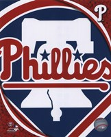 2011 Philadelphia Phillies Team Logo Fine Art Print