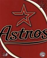 2011 Houston Astros Team Logo Fine Art Print
